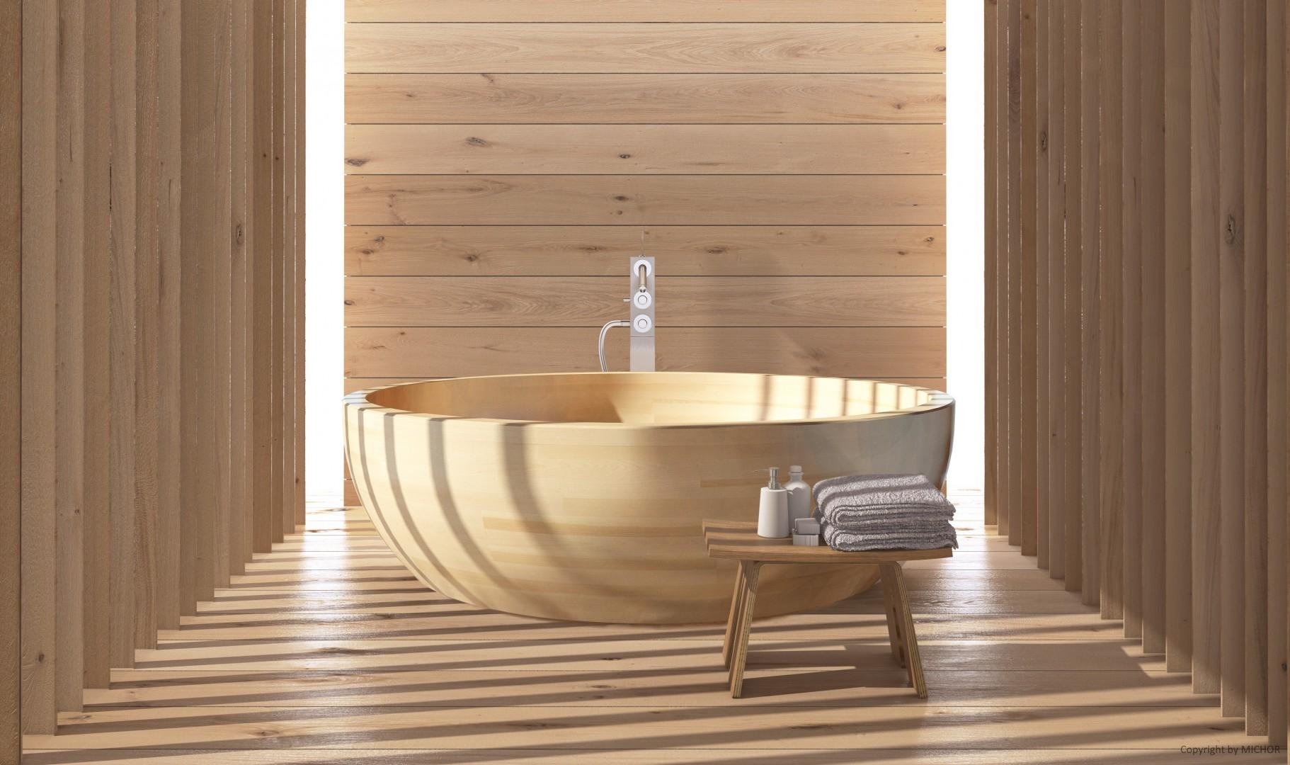 Dimensioni Altezza Vasca Da Bagno : Vasca da bagno in legno